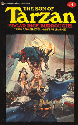 son of tarzan Edgar Rice Burroughs